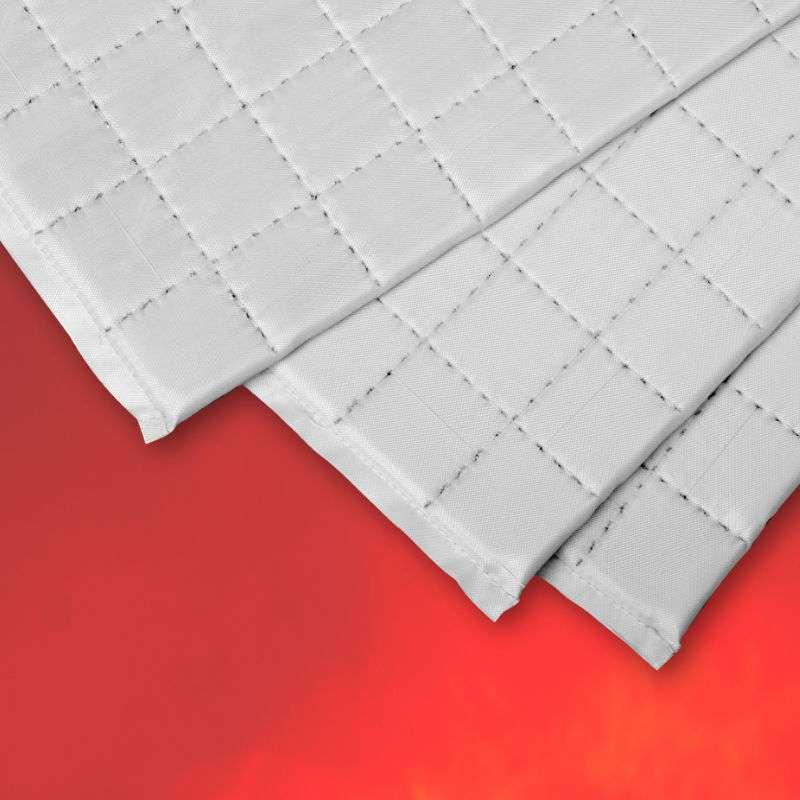 シルサーム・キルト フレキシブルパネル 折り曲げ 省エネ カーボンゼロ 超低熱伝導率 マイクロポーラス高性能断熱材