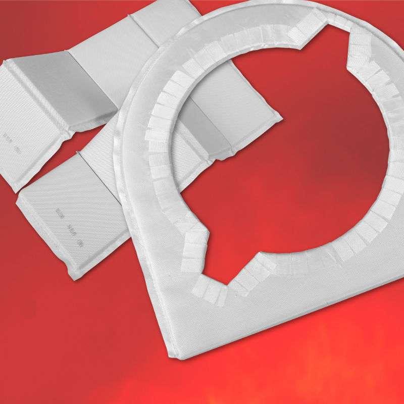 シルサーム・パネル 加工品 ガラス 高耐熱 超低熱伝導率 マイクロポーラス高性能断熱材